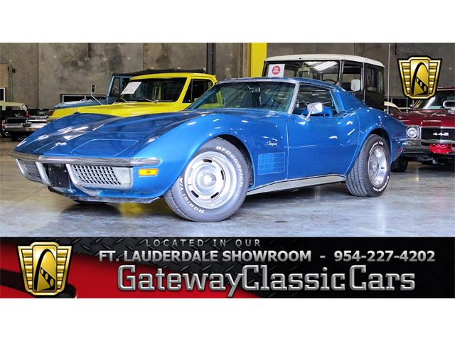Picture of Classic '70 Chevrolet Corvette located in Florida Offered by  - P1QJ