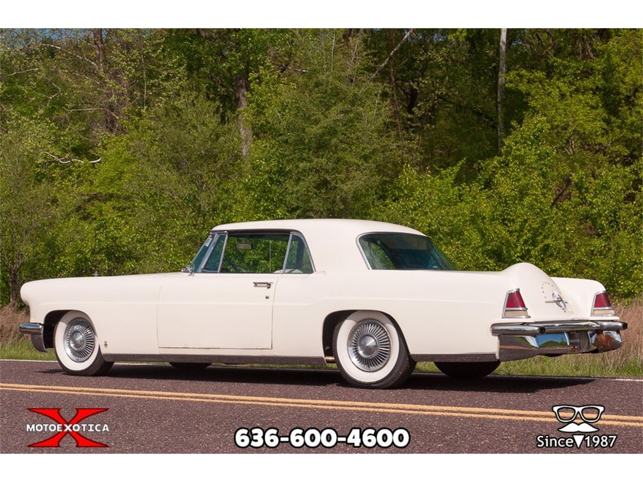 Large Picture of '56 Continental Mark II located in Missouri Offered by MotoeXotica Classic Cars - P1U0