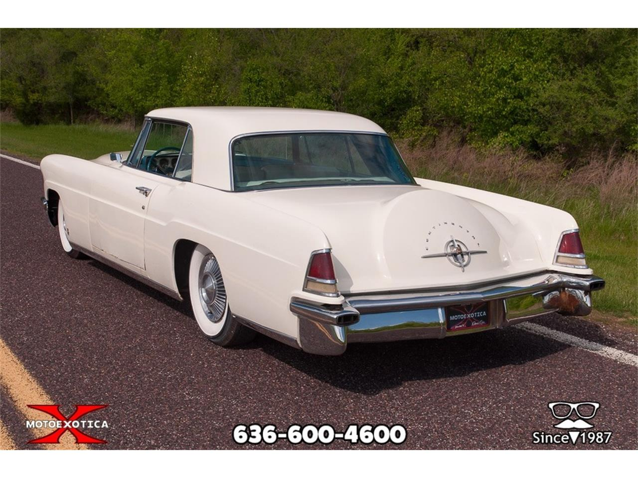 Large Picture of Classic '56 Continental Mark II located in St. Louis Missouri - $32,900.00 Offered by MotoeXotica Classic Cars - P1U0