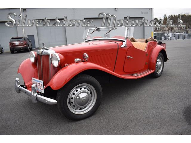 Picture of 1952 MG TD located in Massachusetts - P1UE