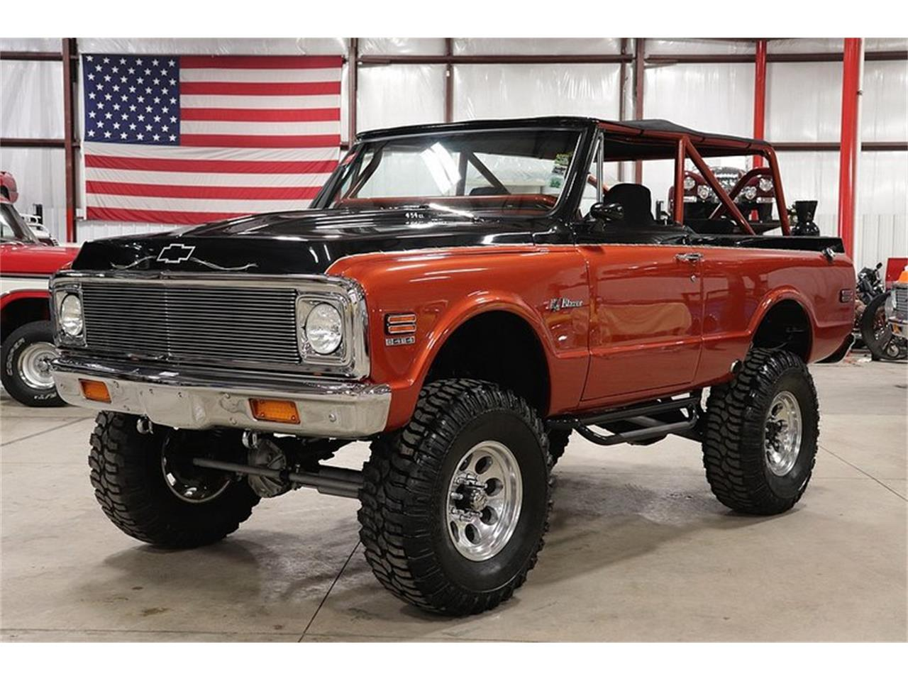 Large Picture of Classic 1972 Chevrolet Blazer located in Kentwood Michigan Offered by GR Auto Gallery - P1UP