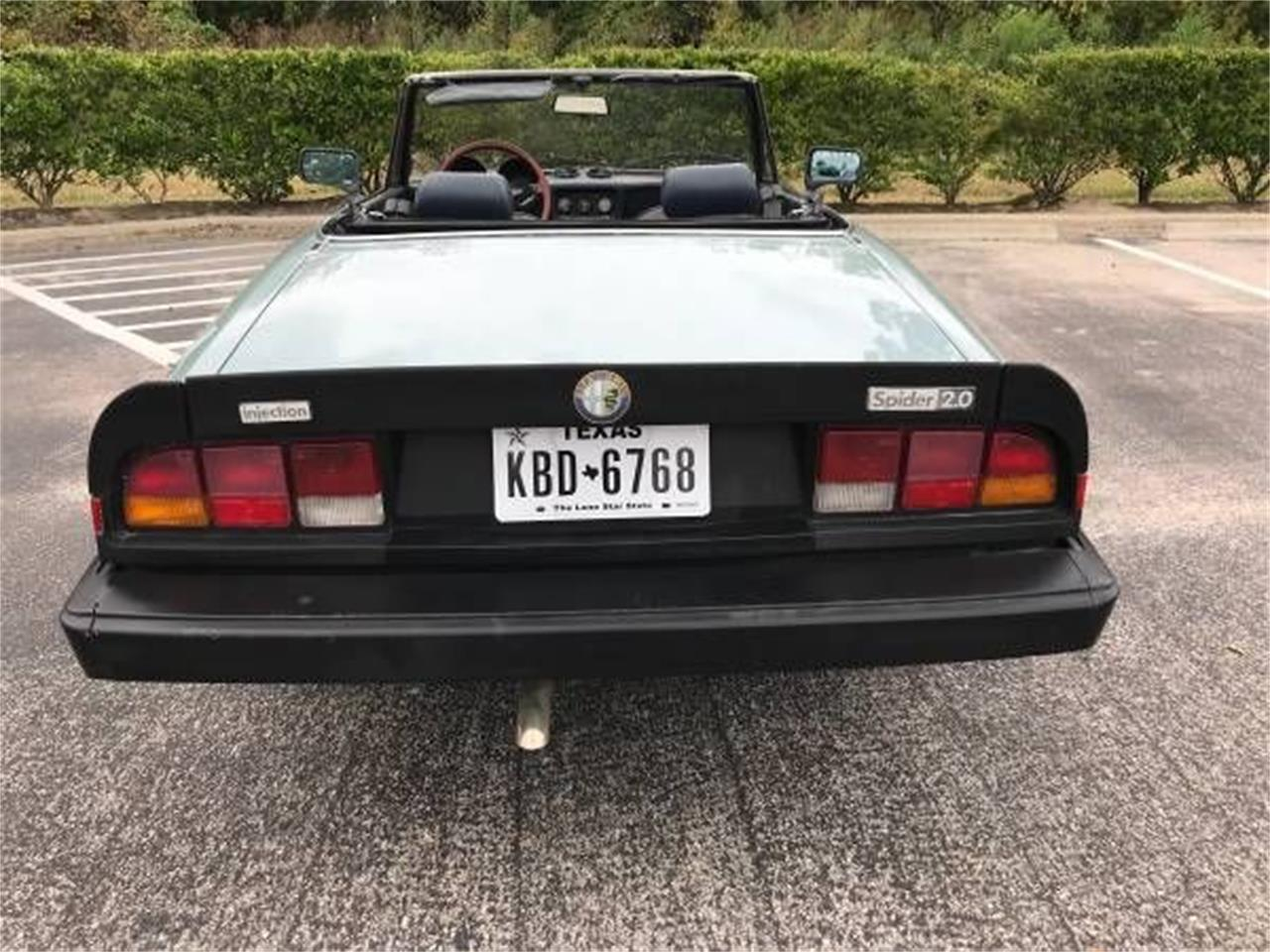 Large Picture of '83 Alfa Romeo 2000 Spider Veloce - $9,395.00 Offered by Classic Car Deals - P1Z5