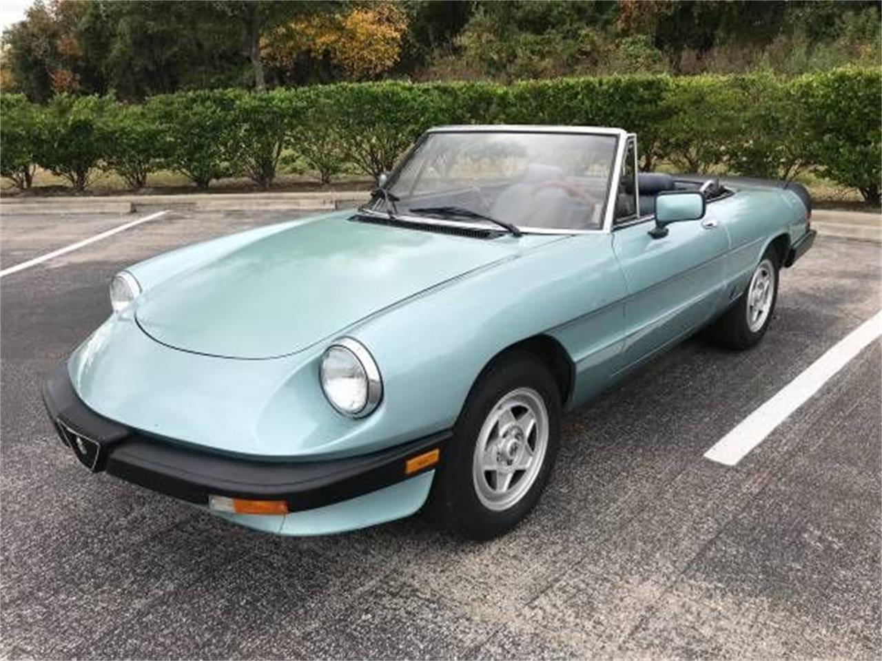 Large Picture of '83 2000 Spider Veloce located in Michigan Offered by Classic Car Deals - P1Z5