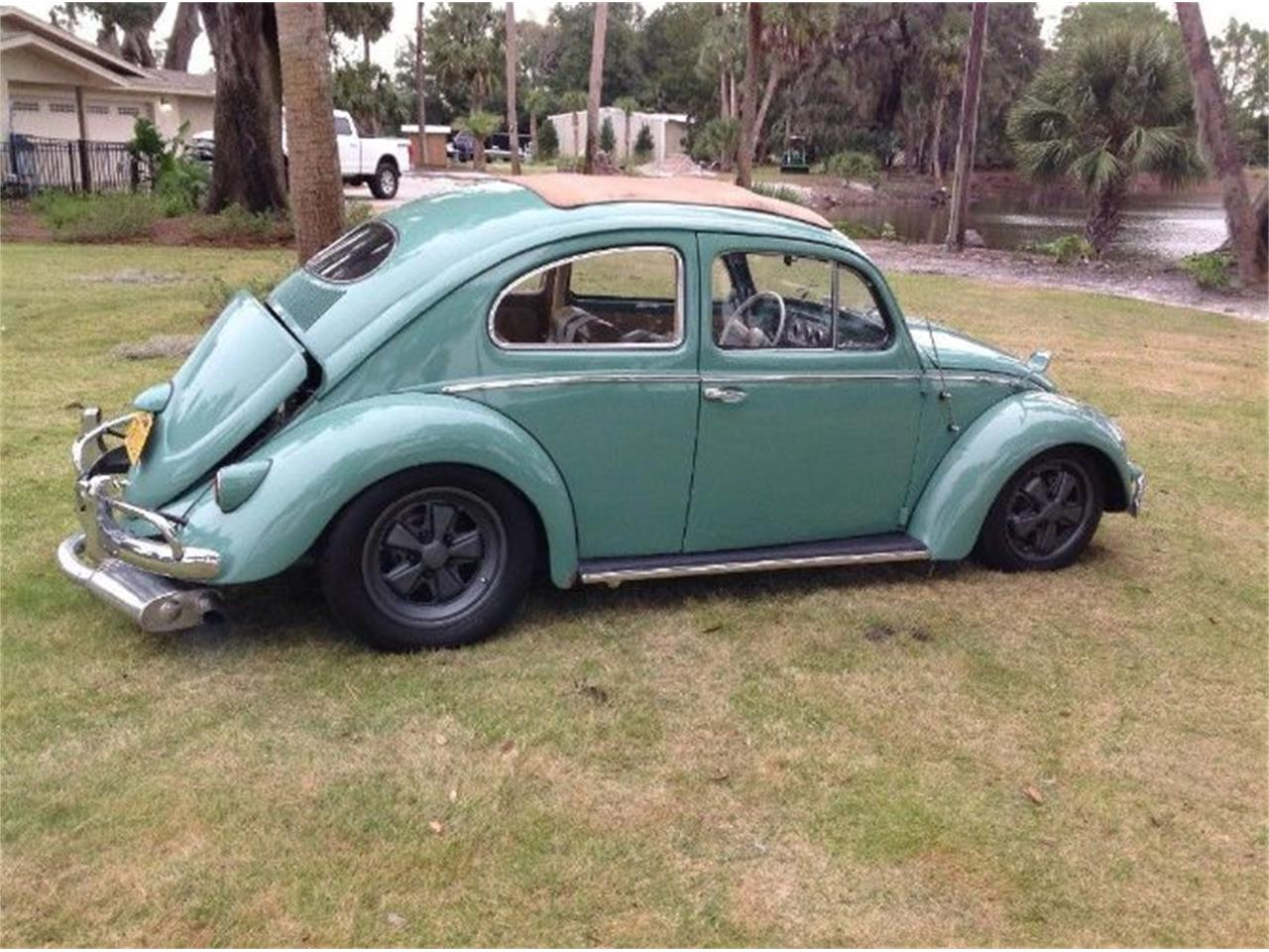 Large Picture of '56 Volkswagen Beetle located in Cadillac Michigan - P201