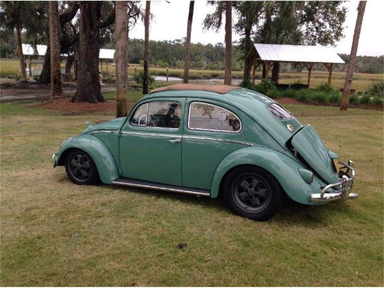 Large Picture of 1956 Volkswagen Beetle located in Cadillac Michigan - P201