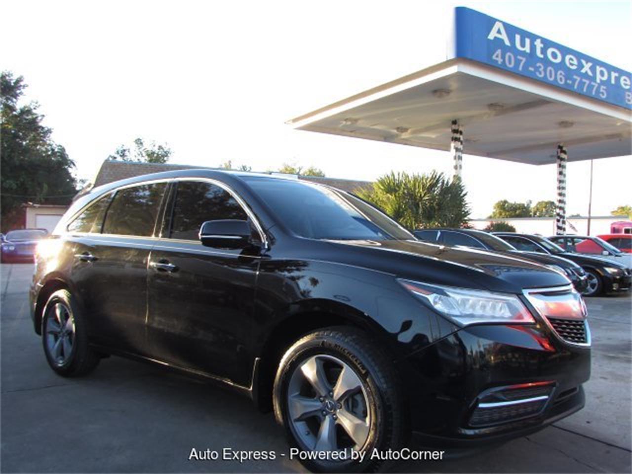 2014 Acura Mdx For Sale >> For Sale 2014 Acura Mdx In Orlando Florida