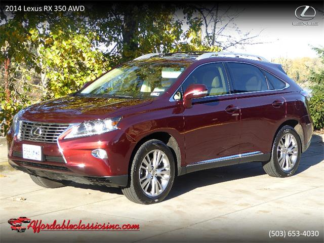 Picture of '14 Lexus RX350 - $24,500.00 Offered by  - P2CS