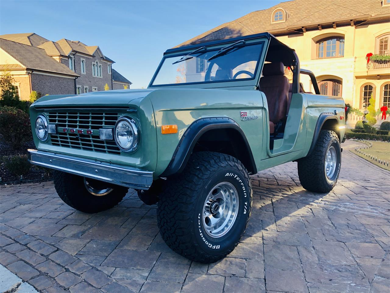 Large Picture of '73 Bronco - P2ID