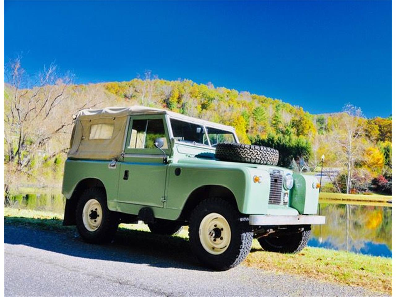 1962 land rover series ii 88 for sale | classiccars | cc-1169840