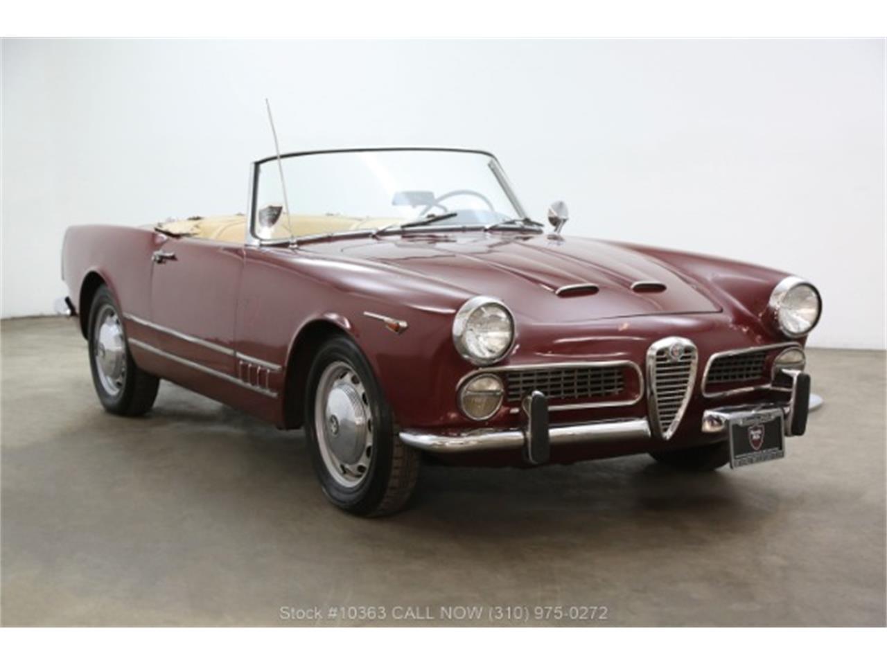 1962 alfa romeo spider for sale | classiccars | cc-1171092