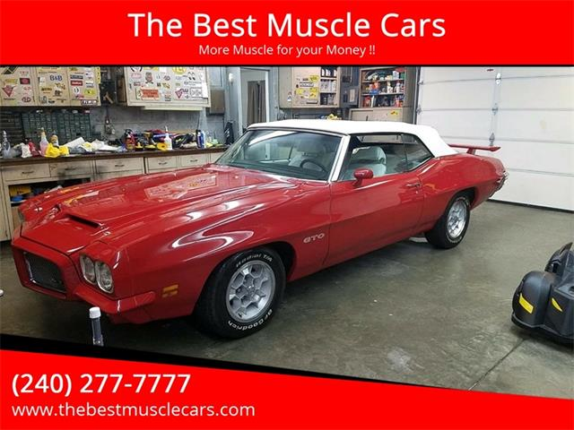 Picture of '71 Pontiac GTO located in Clarksburg Maryland Offered by  - P3NS