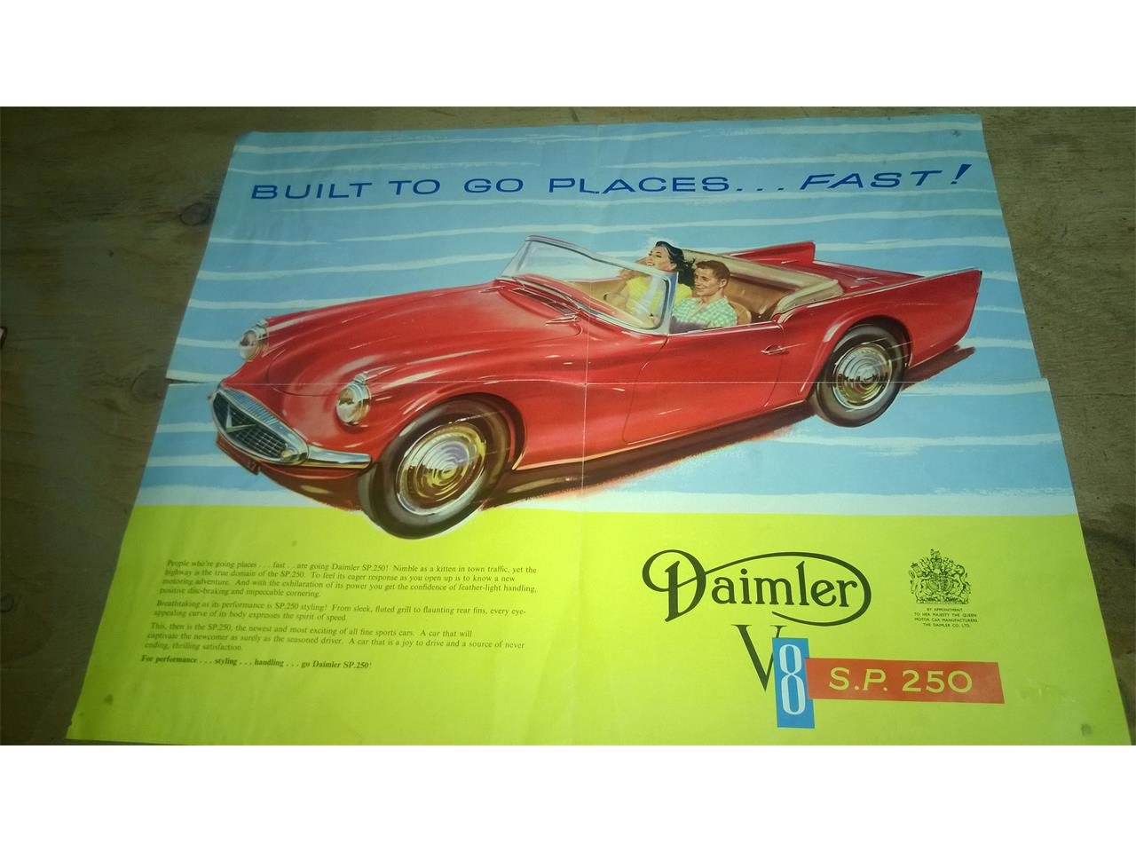 Large Picture of 1964 Daimler SP250 located in Baker City Oregon - P3RM