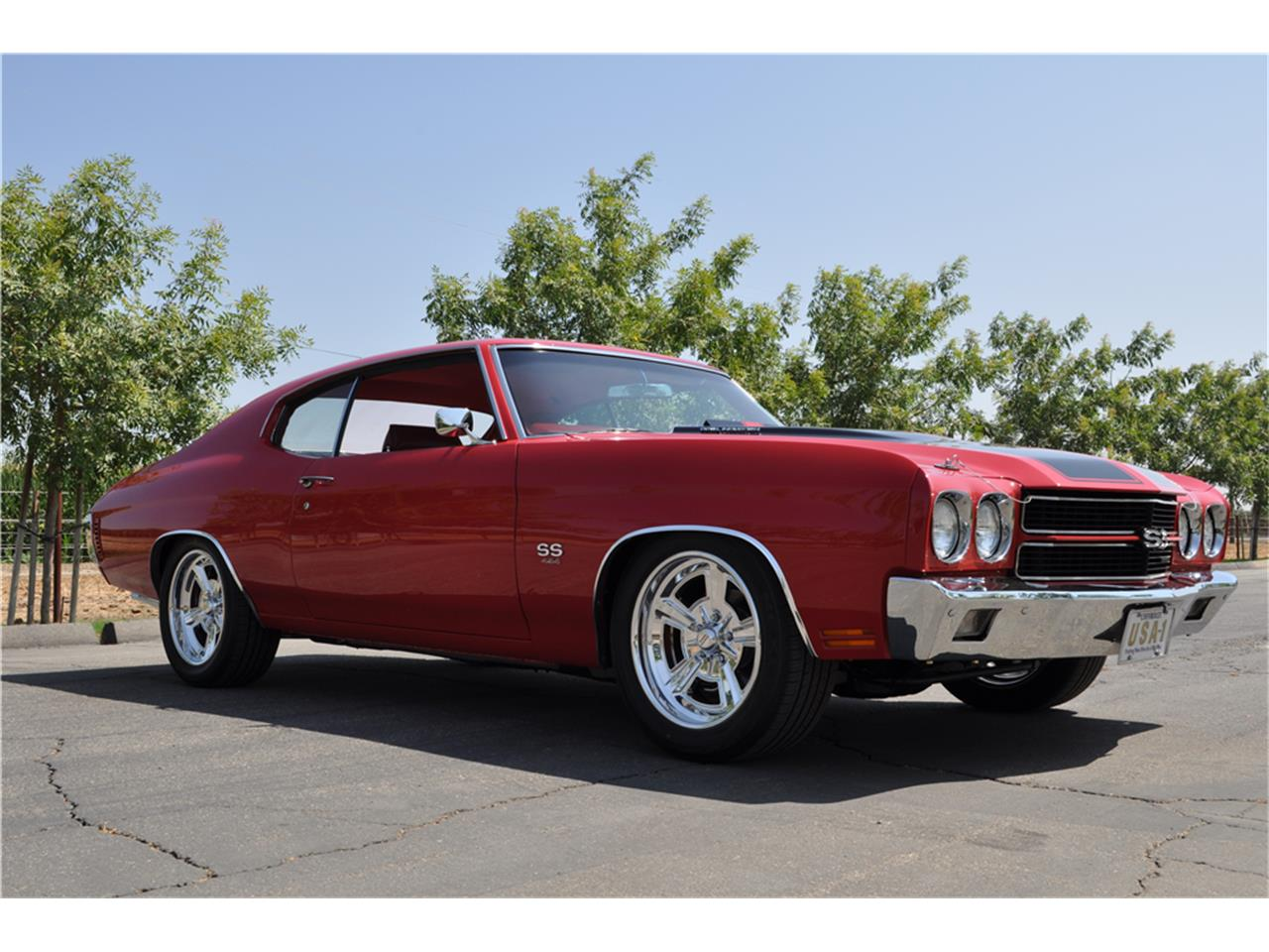 Large Picture of '70 Chevrolet Chevelle SS Auction Vehicle Offered by Barrett-Jackson Auctions - P3V8