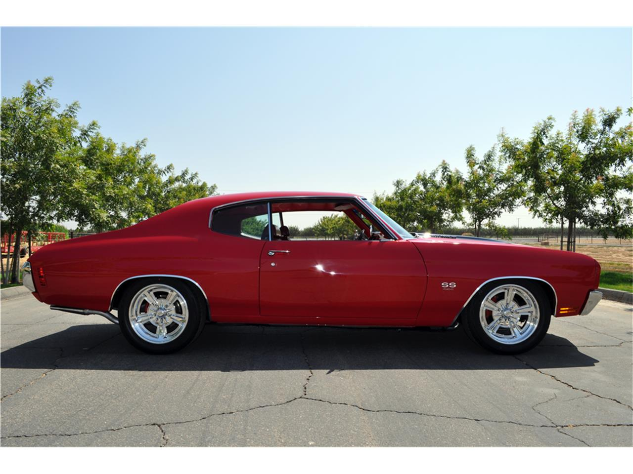 Large Picture of '70 Chevelle SS located in Scottsdale Arizona Offered by Barrett-Jackson Auctions - P3V8