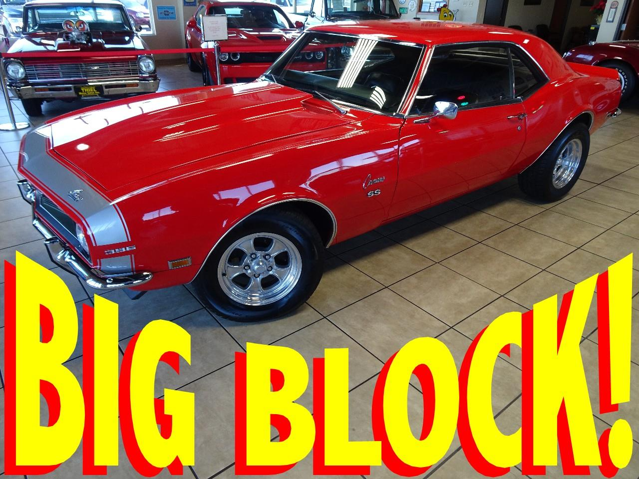 Large Picture of 1968 Chevrolet Camaro SS located in Iowa - $32,997.00 - P3YL