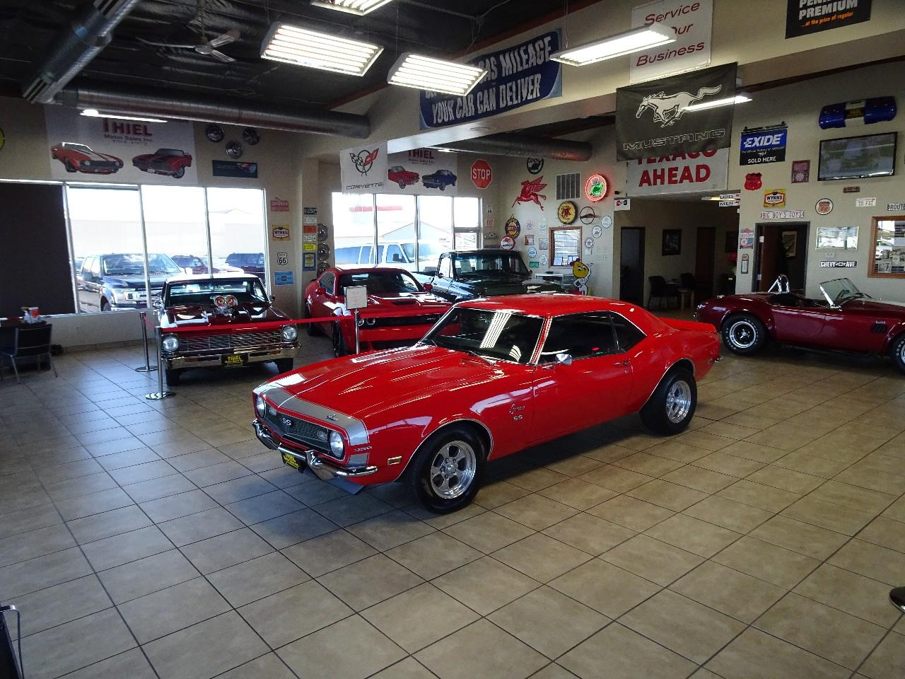 Large Picture of 1968 Camaro SS located in De Witt Iowa Offered by Thiel Motor Sales Inc. - P3YL