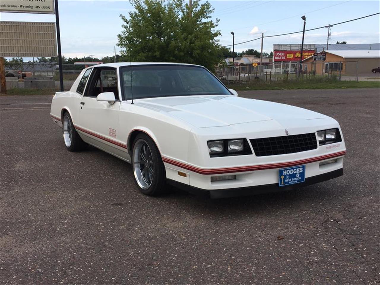 Ss Monte Carlo >> 1988 Chevrolet Monte Carlo Ss For Sale Classiccars Com Cc 1171545