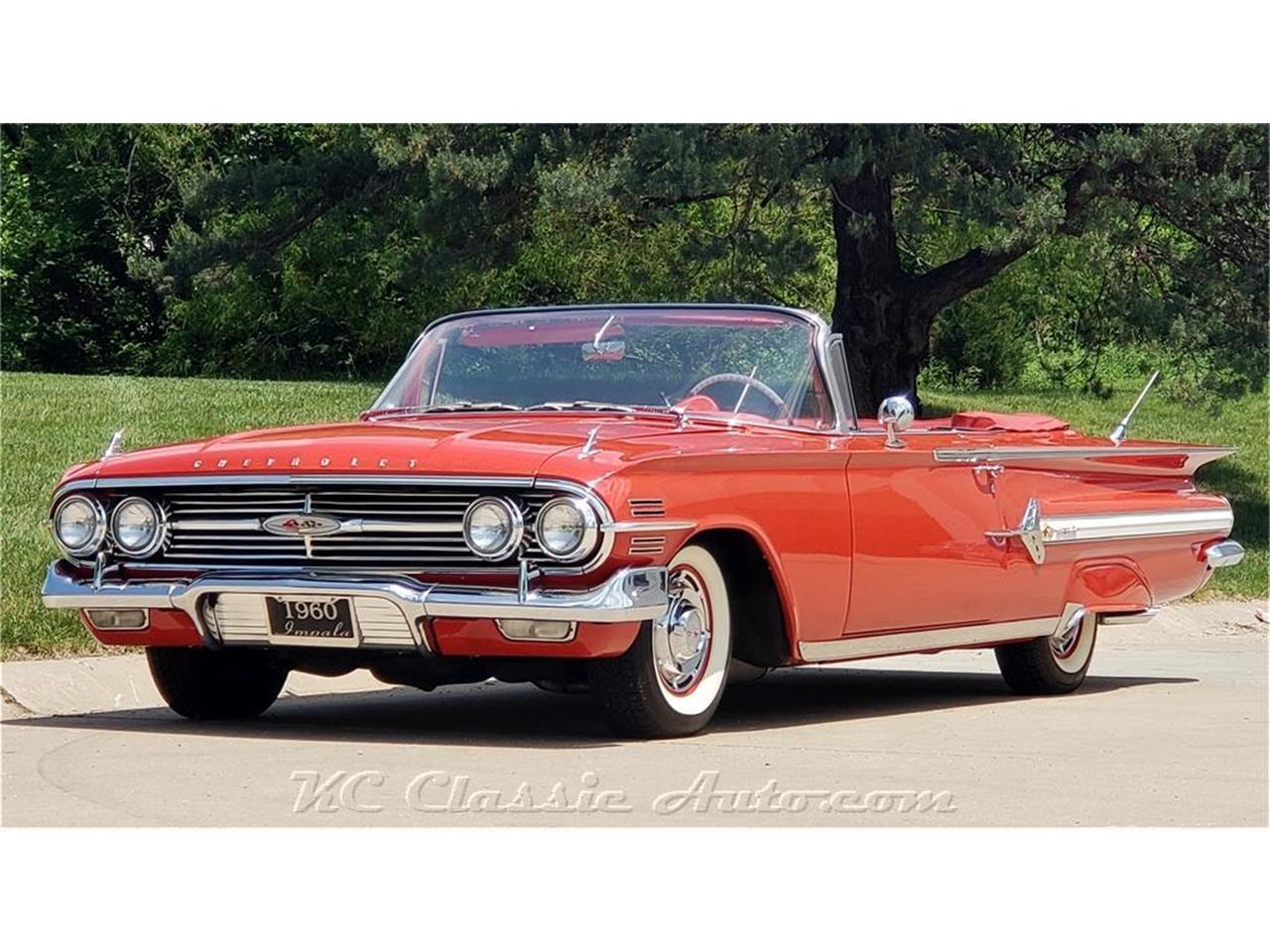 For Sale 1960 Chevrolet Impala In Lenexa Kansas