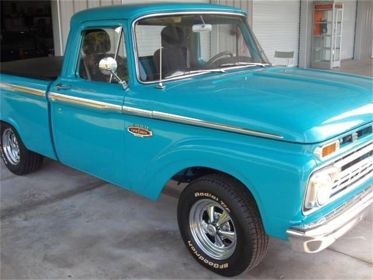 1966 Ford F100 For Sale Cc 1171845 1955 Power Steering Truck Large Picture Of 66 P479