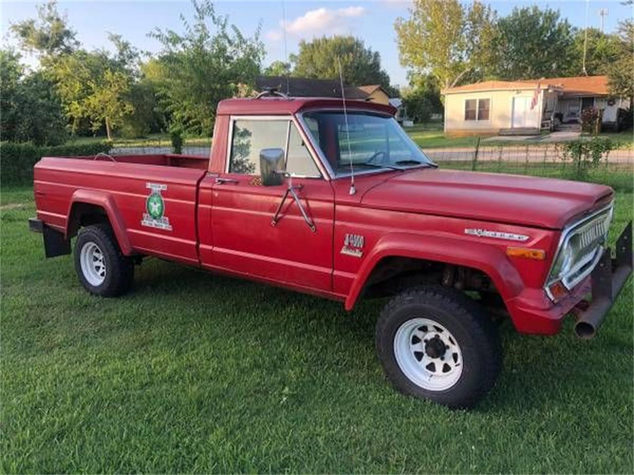 1973 Jeep Pickup For Sale