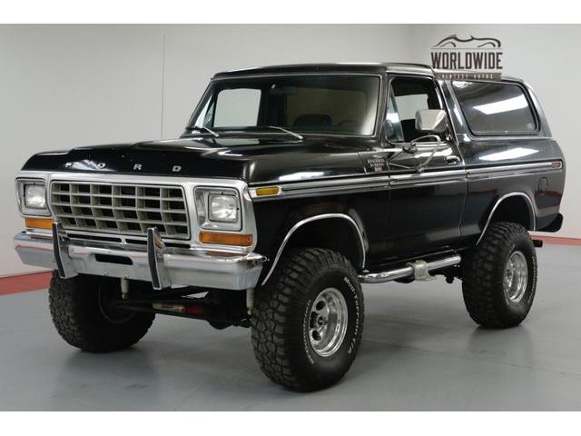 1977 to 1979 ford bronco for sale on. Black Bedroom Furniture Sets. Home Design Ideas