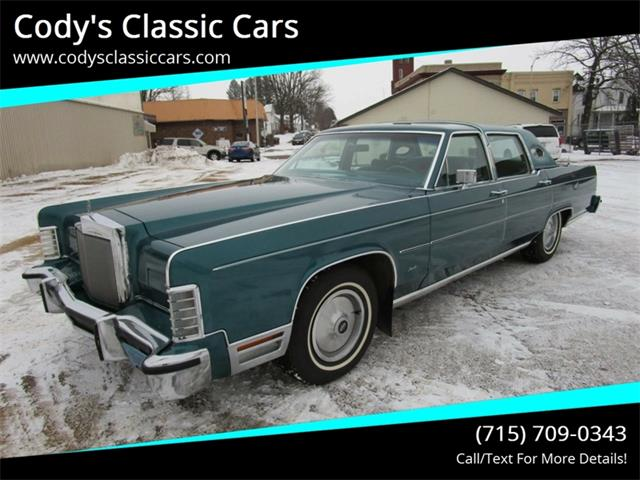 Picture of 1979 Lincoln Continental located in Wisconsin - $5,500.00 Offered by  - P4NQ