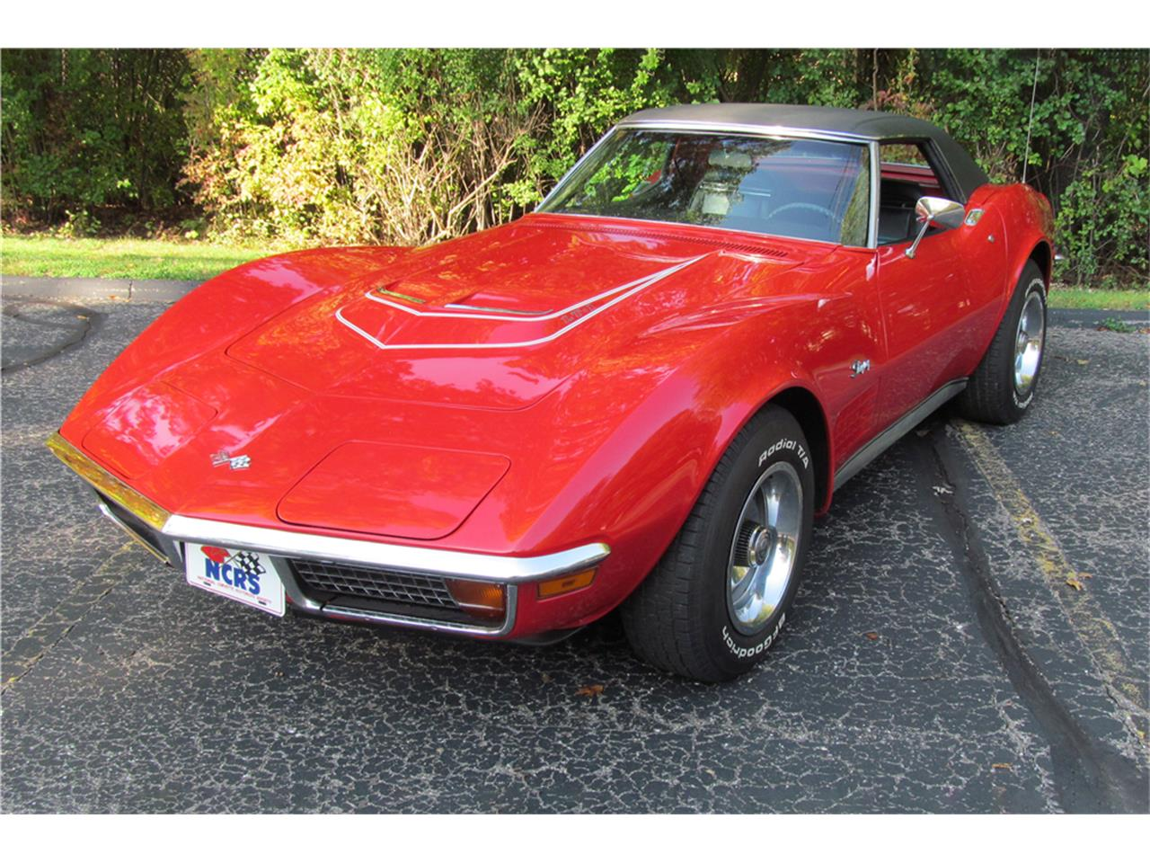 Large Picture of Classic 1972 Chevrolet Corvette Auction Vehicle - P2ZC