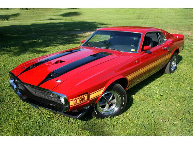 Picture of '70 Shelby GT500 Auction Vehicle - P2ZJ