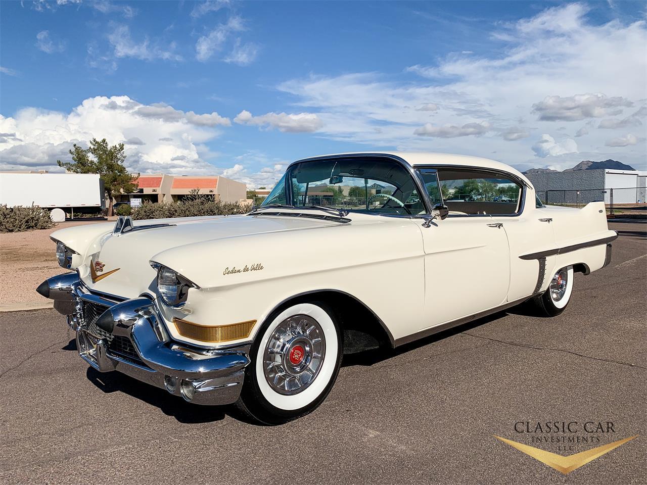 1957 cadillac sedan deville for sale   classiccars   cc-1172838