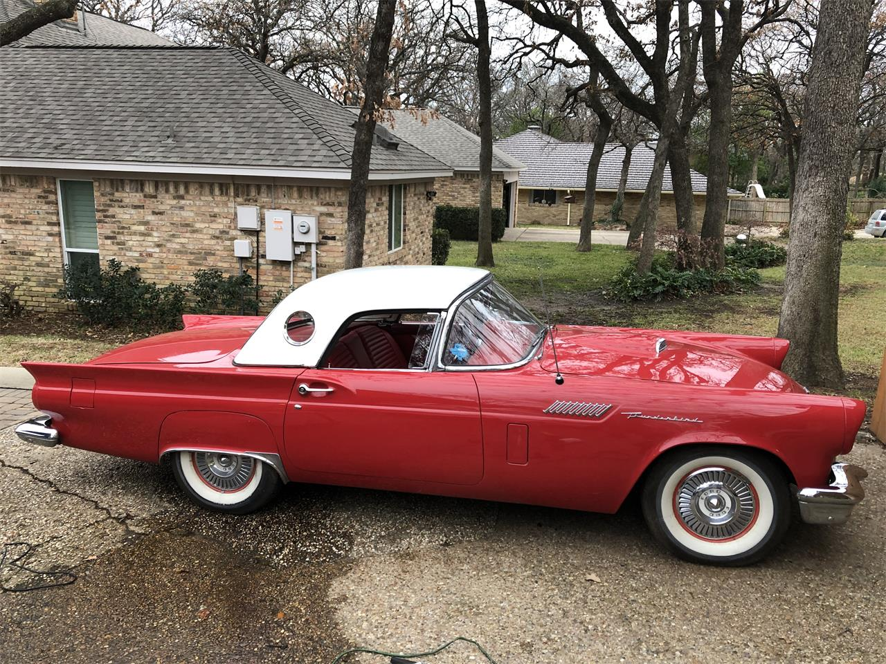 For Sale 1957 Ford Thunderbird In Denton Texas