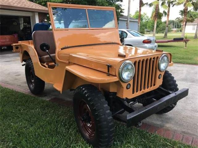 Picture of 1945 Willys CJ2A located in Cadillac Michigan Offered by  - P58X