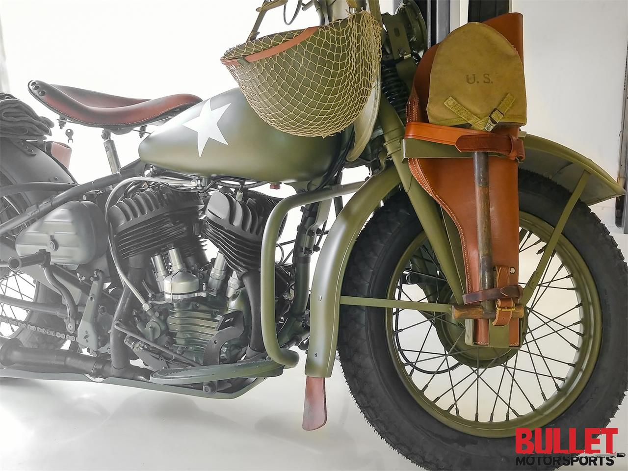 Large Picture of '42 Motorcycle - P59V