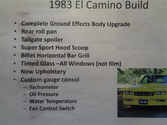 Picture of '83 El Camino SS - P5JX