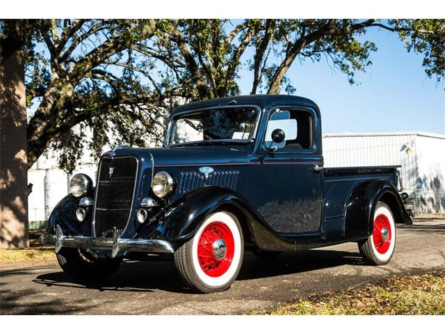 1935 Ford Pickup For Sale On Classiccars Com