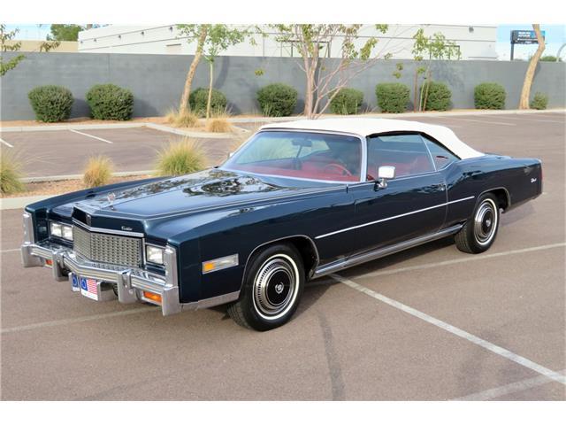 1976 Cadillac Eldorado For Sale On Classiccars Com