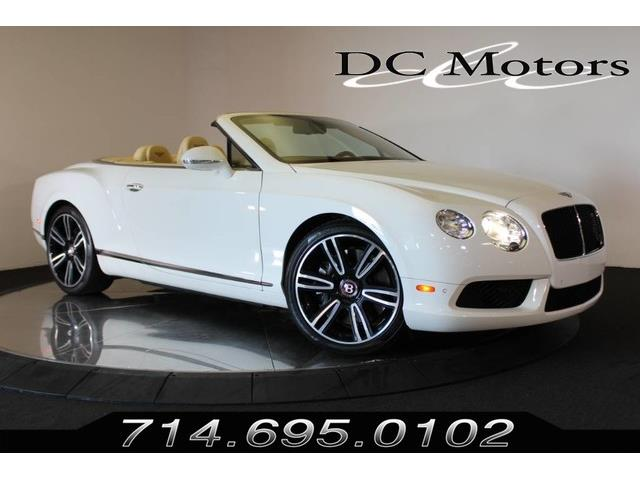 Picture of '13 Continental GTC V8 - P620