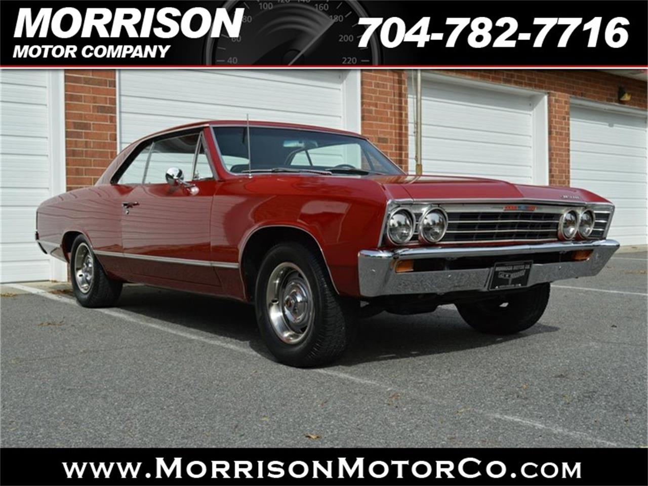 Large Picture of Classic '67 Chevrolet Chevelle Malibu Offered by Morrison Motor Company - P626