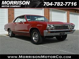 Picture of '67 Chevrolet Chevelle Malibu located in North Carolina - $24,900.00 Offered by Morrison Motor Company - P626
