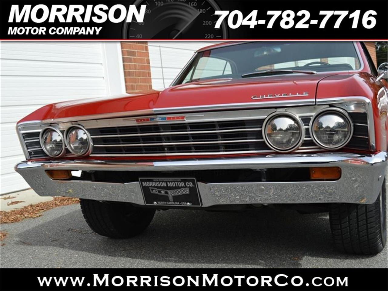 Large Picture of 1967 Chevelle Malibu located in Concord North Carolina - $24,900.00 Offered by Morrison Motor Company - P626