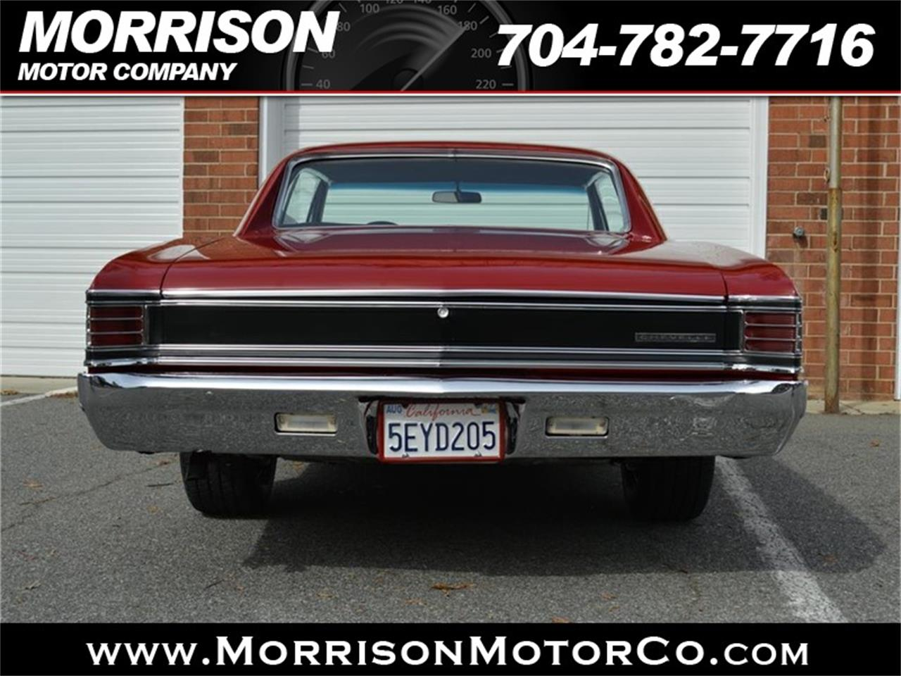 Large Picture of '67 Chevelle Malibu Offered by Morrison Motor Company - P626