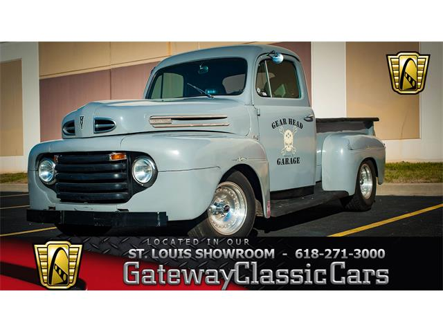 1948 Ford F1 For Sale On Classiccarsrhclassiccars: Location Of Frame Vin 1948 F 1 Ford Pickup At Gmaili.net