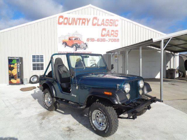 Picture of '78 Jeep CJ5 located in Staunton Illinois - P6BL