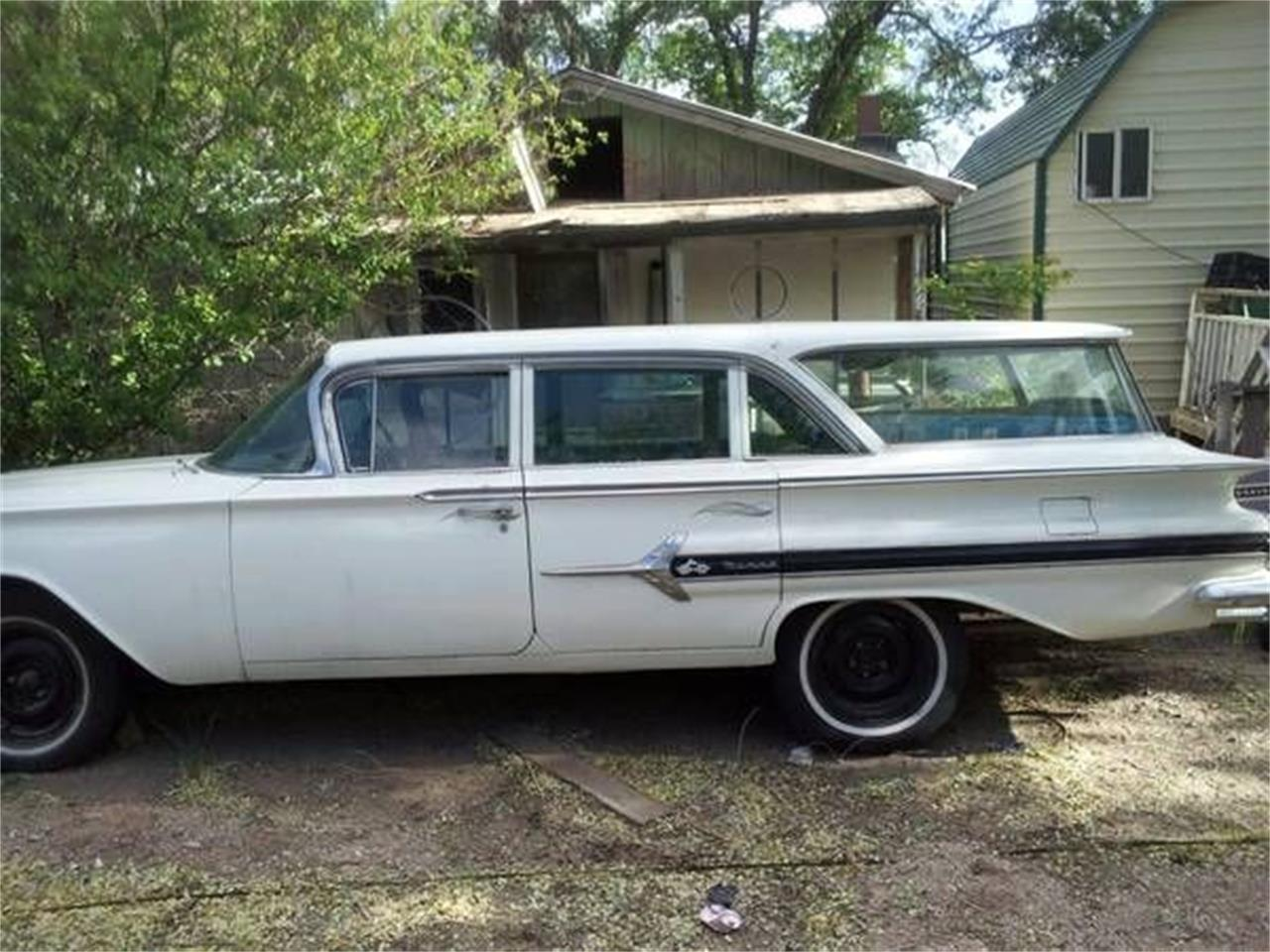 1960 Chevrolet Nomad For Sale Classiccars Com Cc 1174798