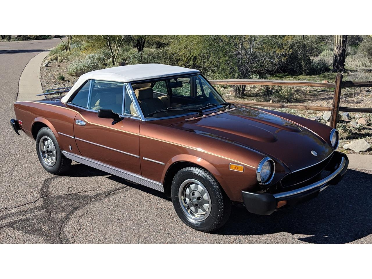 1979 fiat spider for sale | classiccars | cc-1175110