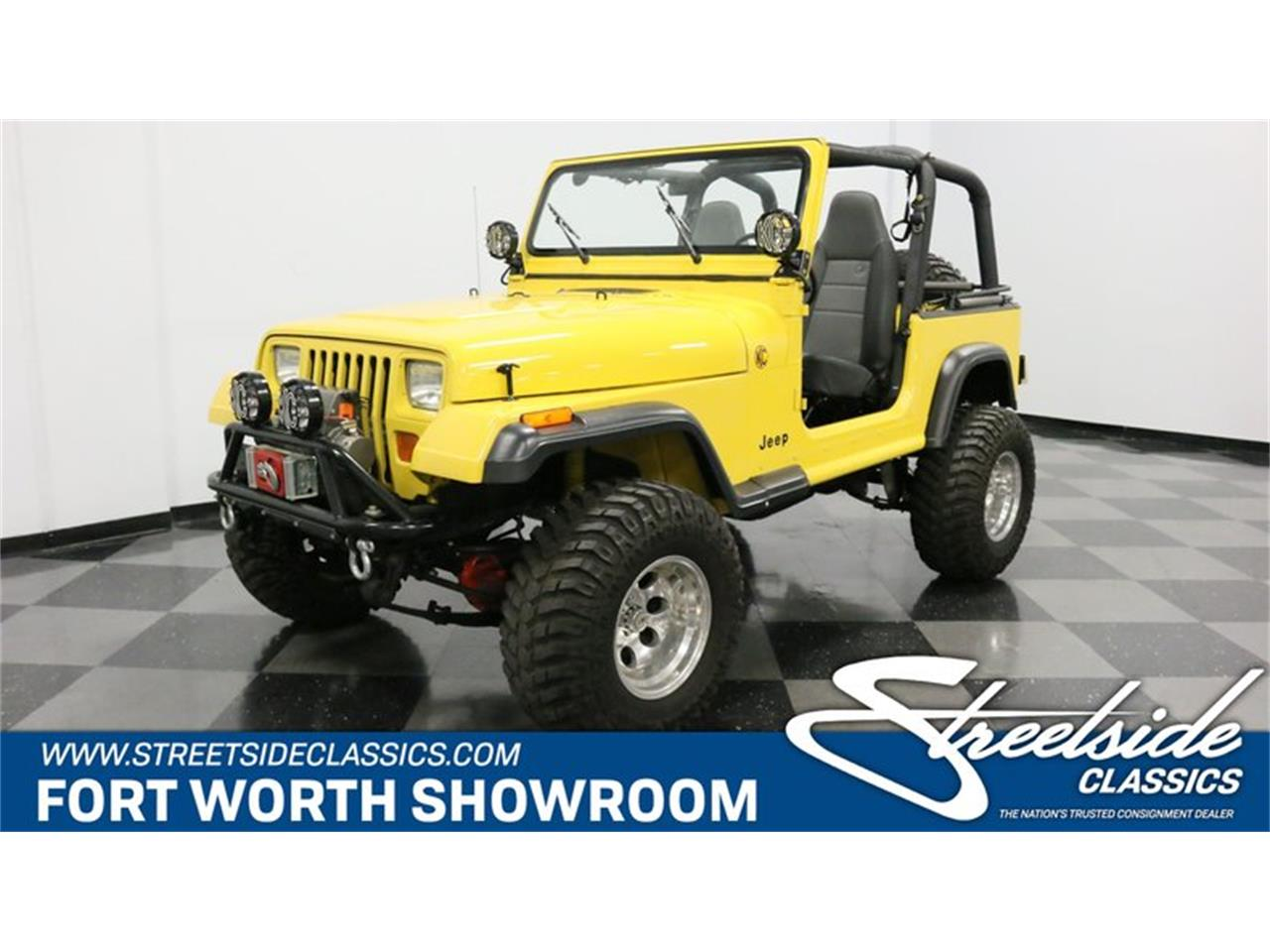 Large Picture of 1993 Wrangler located in Ft Worth Texas Offered by Streetside Classics - Dallas / Fort Worth - P701
