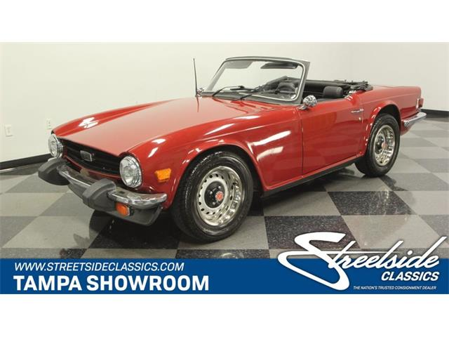 Picture of '76 TR6 located in Lutz Florida - P72R