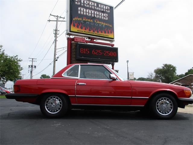 Picture of '85 380SL - P74J
