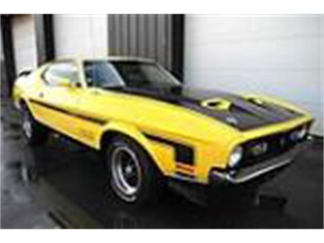 Picture of '71 Mustang Mach 1 - P7G8