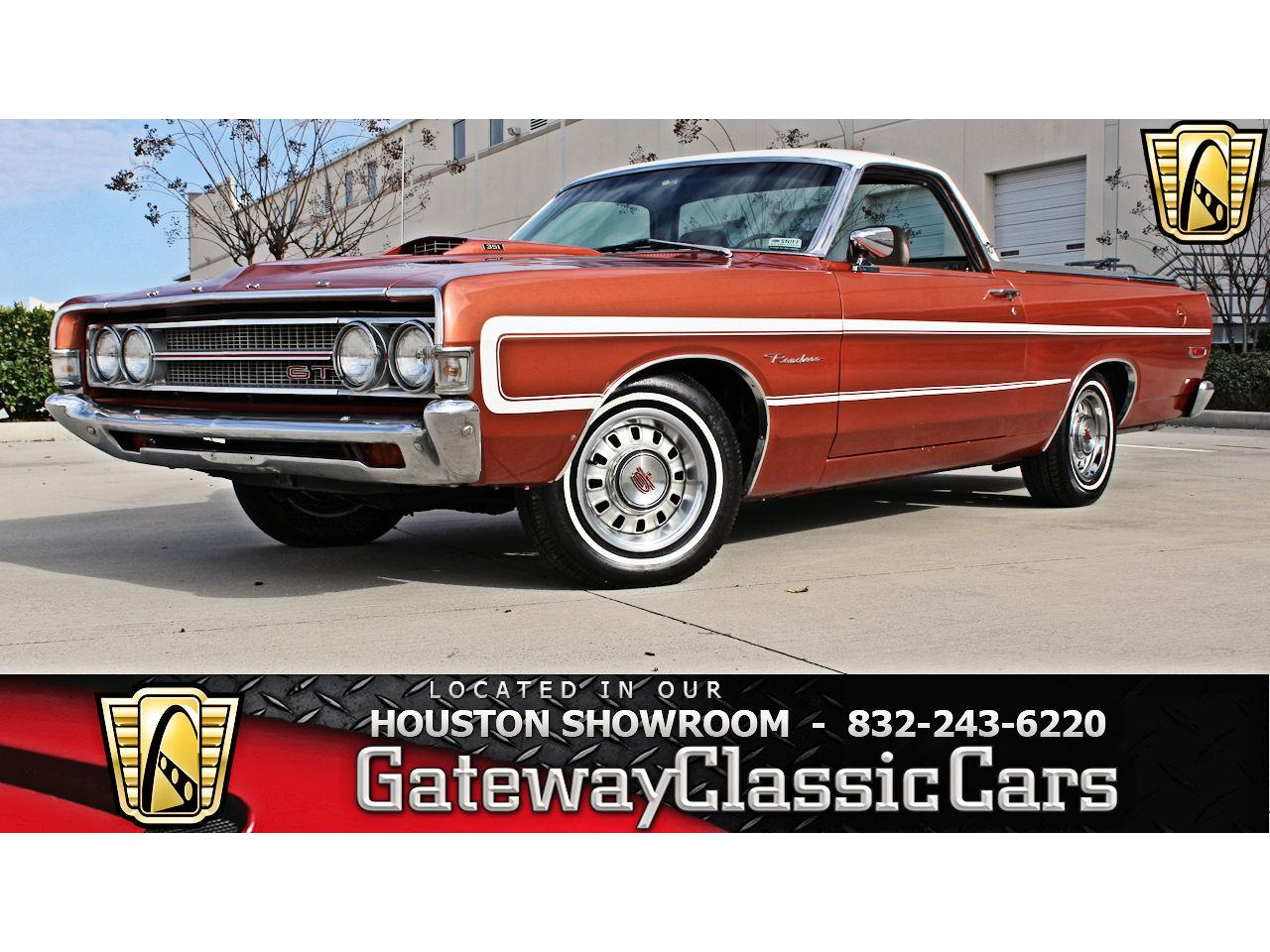 For Sale 1969 Ford Ranchero In Houston Texas