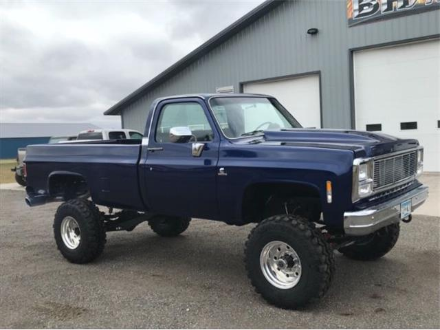 1982 chevy truck 4x4 lifted